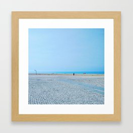 Fisherman, Espinho, Portugal Framed Art Print