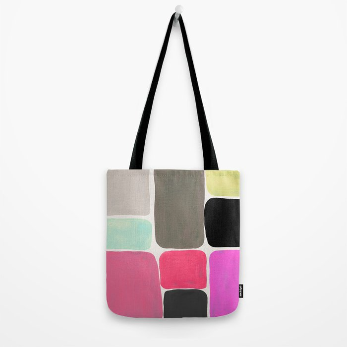 colour + pattern Tote Bag