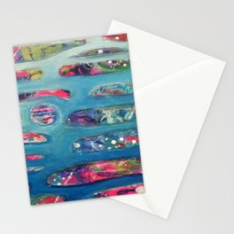 Ocean Commotion Stationery Cards