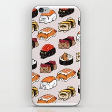 Sushi Persian Cat iPhone & iPod Skin