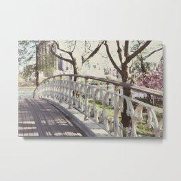 the bridge:: nyc Metal Print