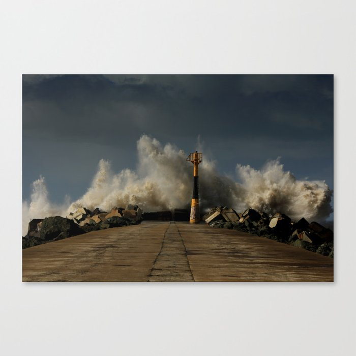 Dark Swell Canvas Print