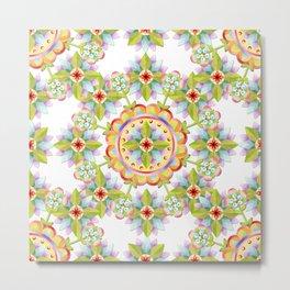 Starflower Blossoms Metal Print