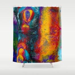 Night Thing Shower Curtain
