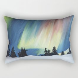 Frozen Fire Rectangular Pillow