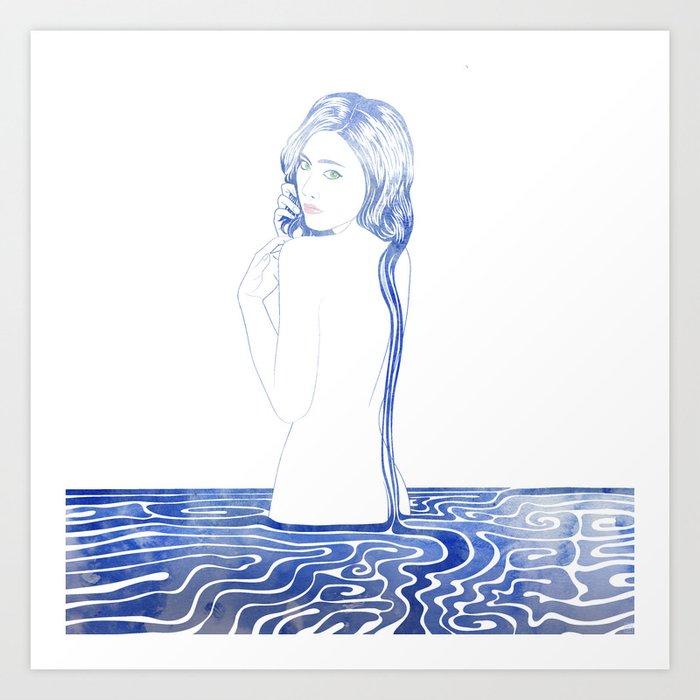 Water Nymph LXXVII Art Print