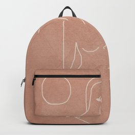 Engraved Nude Line II Backpack