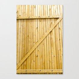 new wooden gates Canvas Print