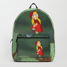 Little Red Riding Hood Lost in the Woods! Backpack