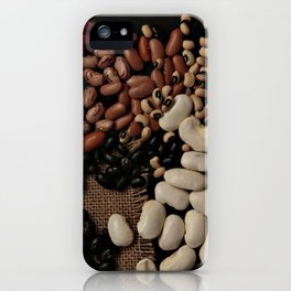 Dried beans. iPhone Case
