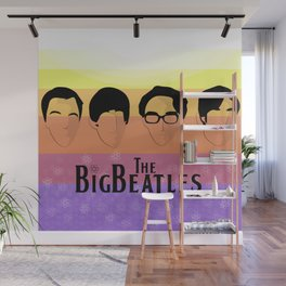 The Big Beatle Theory Wall Mural