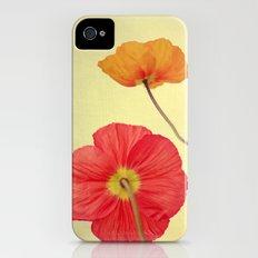 Les Jolies Fleurs Slim Case iPhone (4, 4s)