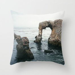 Pirate's Cove Throw Pillow