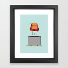 Supertoast! Framed Art Print
