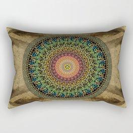Mandala Armenian Alphabet Rectangular Pillow