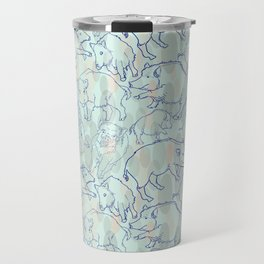 Wild Boars Travel Mug