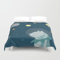 Dreaming about the Space Duvet Cover