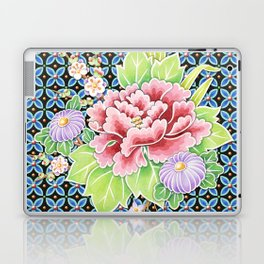 Brocade Bouquet Laptop & iPad Skin