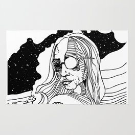 Space Girl Rug