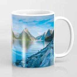Serene Morning at Milford Sound Coffee Mug