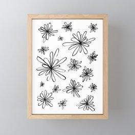Energy Flowers Framed Mini Art Print
