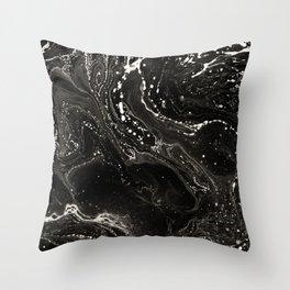 Black and white #2 Throw Pillow