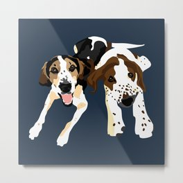 Fred and Sophie Metal Print