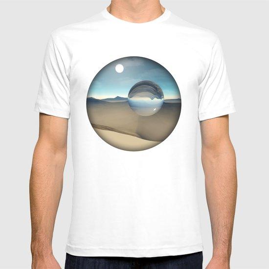 desert sphere void T-shirt
