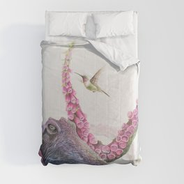 Foxglove Octopus Comforters