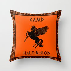 Camp Half-Blood Throw Pillow