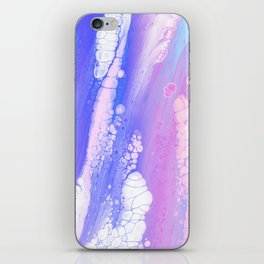 Ankaa I - Abstract Costellation Painting - Pastel Foam. iPhone Skin