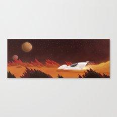 Mars, Off Road Canvas Print
