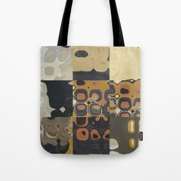Mid Century Modern PATTERN Abstract Geometric Prints by Michel Keck Tote Bag