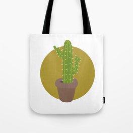Simple Cactus Tote Bag
