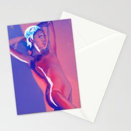 dancer in the night Stationery Cards