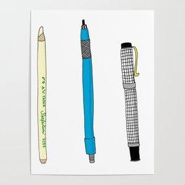 Drawing Tools Poster