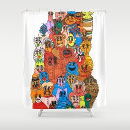 moppets Shower Curtain