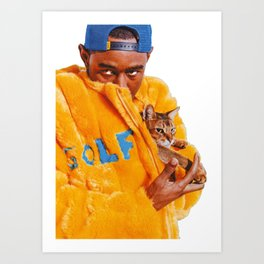 Tyler The Creator Poster Art Print