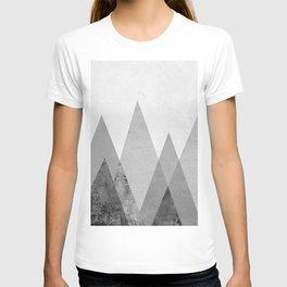 Landscape collage marble XVII T-shirt
