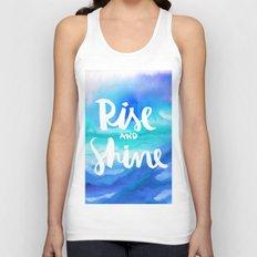 Rise & Shine [Collaboration with Jacqueline Maldonado] Unisex Tank Top