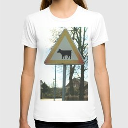 Attention cows T-shirt