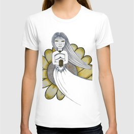 Daisy Girl by Saribelle Rodriguez T-shirt