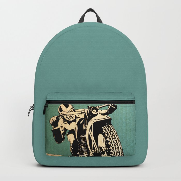 Motorcycle Race Backpack