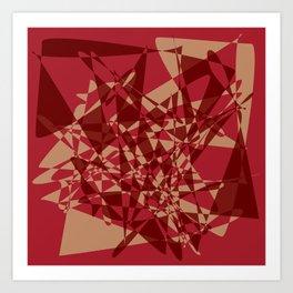 Broken mirror 1 - Geometric Abstract Art Print