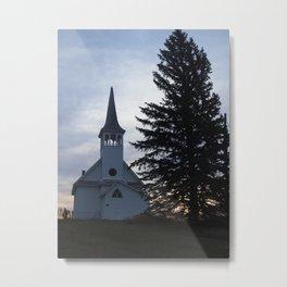 Zoar Lutheran Church, Kosciusko Township Metal Print