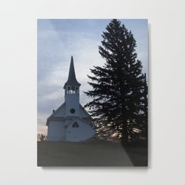 Zoar Lutheran Church, Kosciusko Township Metal Print