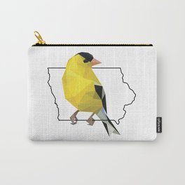 Iowa – American Goldfinch Carry-All Pouch