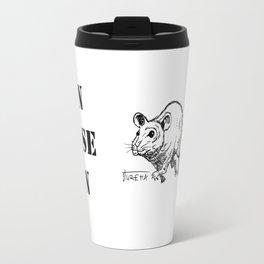 Run Mouse Run Travel Mug