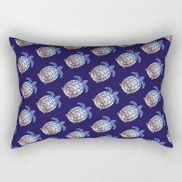 Turtle beach pattern Rectangular Pillow