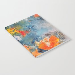 Orange Fish Notebook